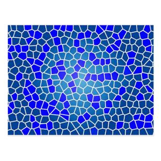 mosaico do tipo do padrão cartão postal