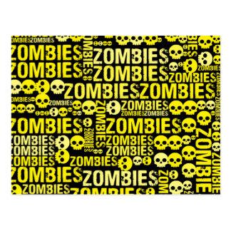 Mosaico dos zombis cartão postal