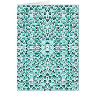 Mosaico louco cartões