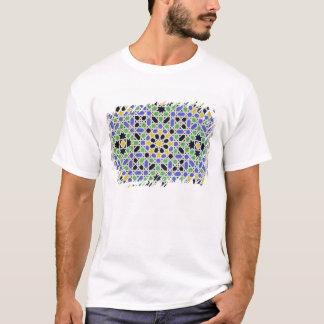 Mosaico nos dado da porta no salão dos dois camiseta