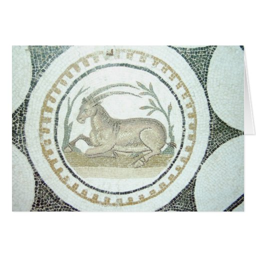 Mosaico romano cartoes