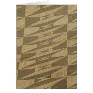 Mosaico romano de Ephesus Cartão De Nota