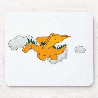 Mosca do dragão mouse pad