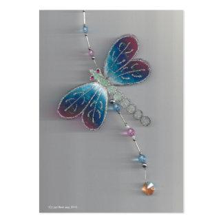 mosca móvel do dragão modelo cartão de visita