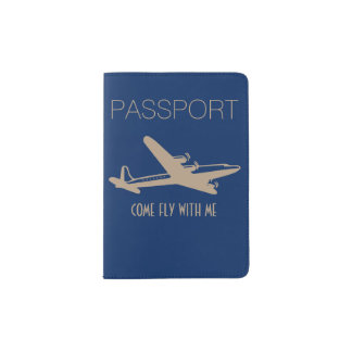 """""""Mosca vinda comigo """" Capa Para Passaporte"""