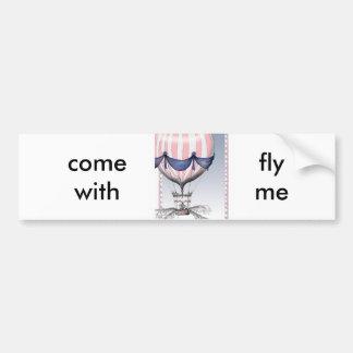 mosca vinda comigo, fernandes tony adesivo para carro
