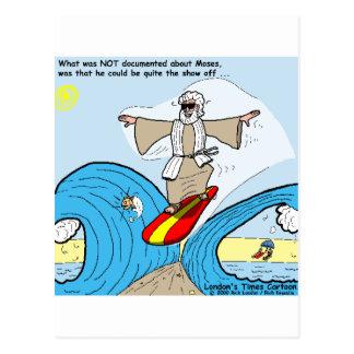 Moses surfa coleções engraçadas dos presentes das  cartão postal
