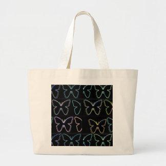 Mostra da borboleta bolsa para compras