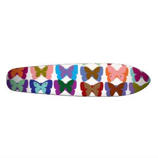 Mostra da borboleta shape de skate 18,1cm