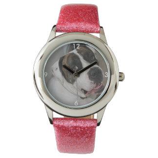 Mostra Lantejoula recortar a personalizar Relógios