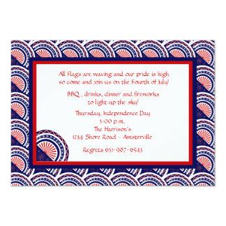 Mostre a suas cores o convite patriótico