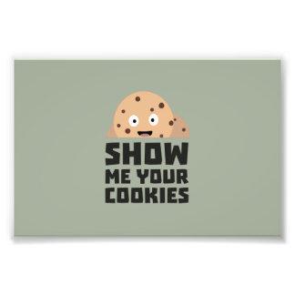 Mostre-me seus biscoitos Z9xqn Impressão De Foto