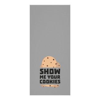 Mostre-me seus biscoitos Znwm6 10.16 X 22.86cm Panfleto