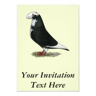 Mostre o piloto Pied Convite