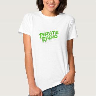 Mostre seu orgulho para o rádio do pirata camiseta