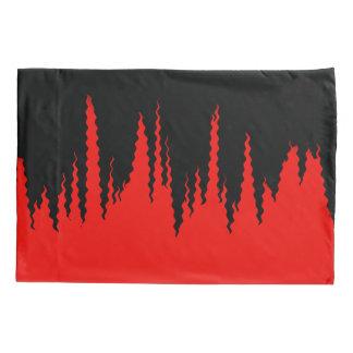 Motivo vermelho e preto do fogo