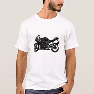 Moto esportiva camiseta