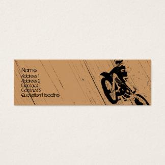 Moto-Psicótico Cartão De Visitas Mini