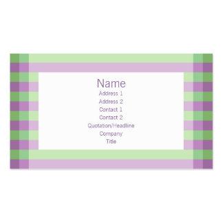 Moto - roxo & verde cartão de visita