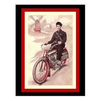 Motocicleta do milímetro da excursão do cartão em