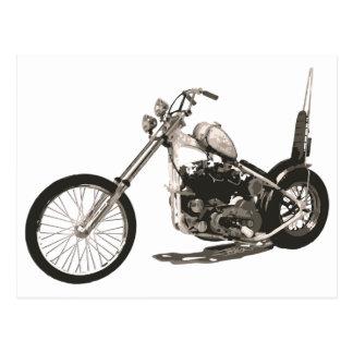 Motocicleta fácil do cavaleiro - cartão do