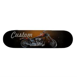 Motocicleta feita sob encomenda shape de skate 18,4cm