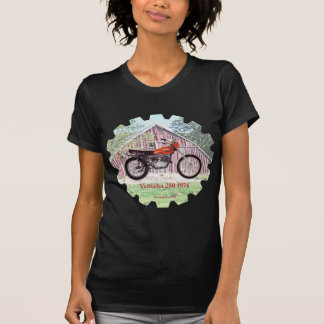 Motocicleta Yamaha 250 de 1974 clássicos T-shirts