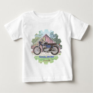 Motocicleta Yamaha de 1967 clássicos T-shirts