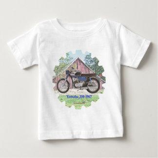 Motocicleta Yamaha de 1967 clássicos Camiseta Para Bebê