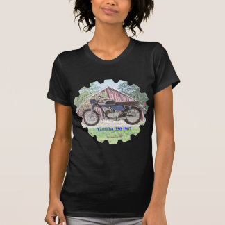 Motocicleta Yamaha de 1967 clássicos Camiseta