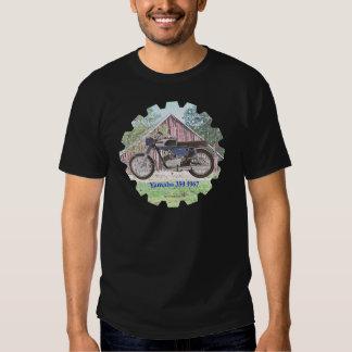 Motocicleta Yamaha de 1967 clássicos T-shirt