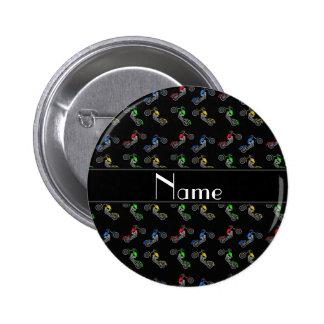 Motocicletas pretas conhecidas personalizadas boton