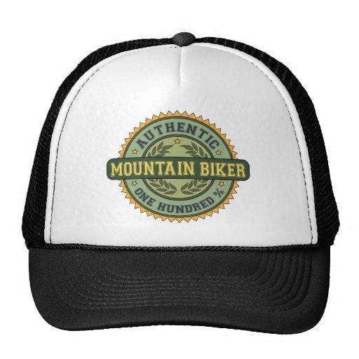 Motociclista autêntico da montanha bones