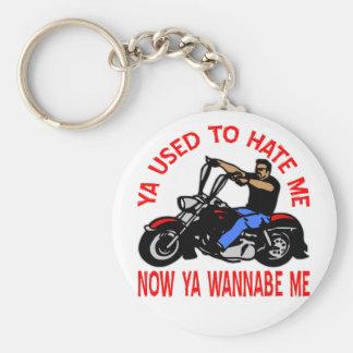 Motociclista que você se usou para me diar agora v chaveiro