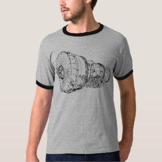 Motor de jato tshirt