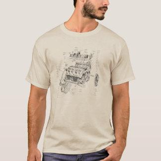 Motor de V8 Camiseta