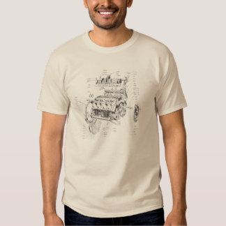 Motor de V8 T-shirt
