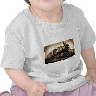 Motor nacional canadense 2128 da estrada de ferro t-shirts