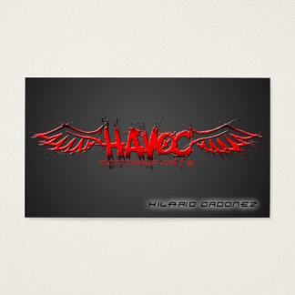 Motorsports do Havoc (nanômetro) Cartão De Visitas
