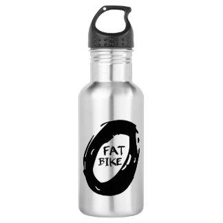Mountain bike gordo garrafa d'água