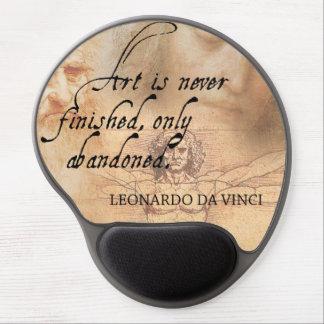 Mouse Pad De Gel A arte é terminada nunca, simplesmente abandonada