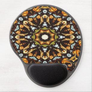 Mouse Pad De Gel A laranja chique de Zendala do hippy sae da 97301cc0248