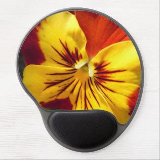 Mouse Pad De Gel Amarelo e amor perfeito vermelho oxidado
