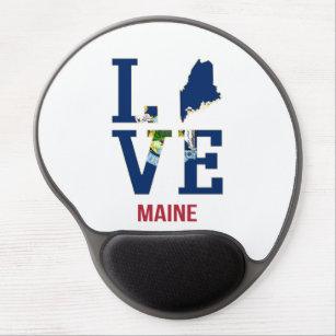 Mouse Pad De Gel Amor de Estado dos EUA
