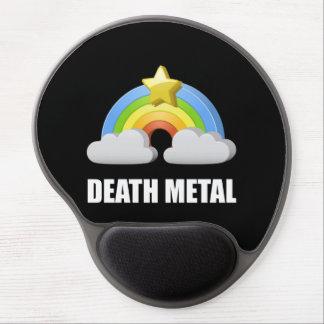 Mouse Pad De Gel Arco-íris do metal da morte