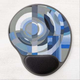 Mouse Pad De Gel Art deco no gel azul Mousepad