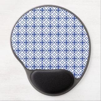 Mouse Pad De Gel Azul marroquino