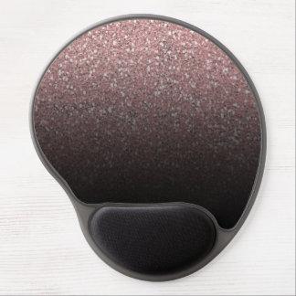 Mouse Pad De Gel Brilho cor-de-rosa & encanto Glam na moda moderno