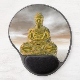 Mouse Pad De Gel Buddha dourado - 3D rendem