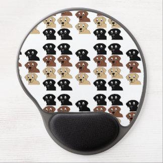 Mouse Pad De Gel cabeça dos desenhos animados das cores dos